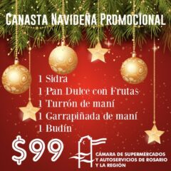 CANASTA NAVIDEÑA PROMOCIONAL 2018